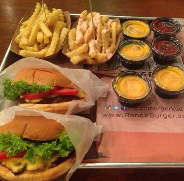 مطعم رانش برجر Ranch Burger الدمام الاسعار المنيو الموقع مطاعم و كافيهات الشرقية